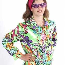 Flower power blouse kids peace