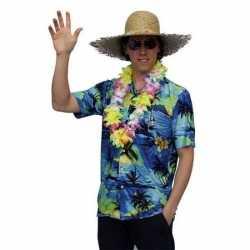 Hawaii blouse met palmbomen