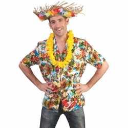 Hawaii blouse voor volwassenen